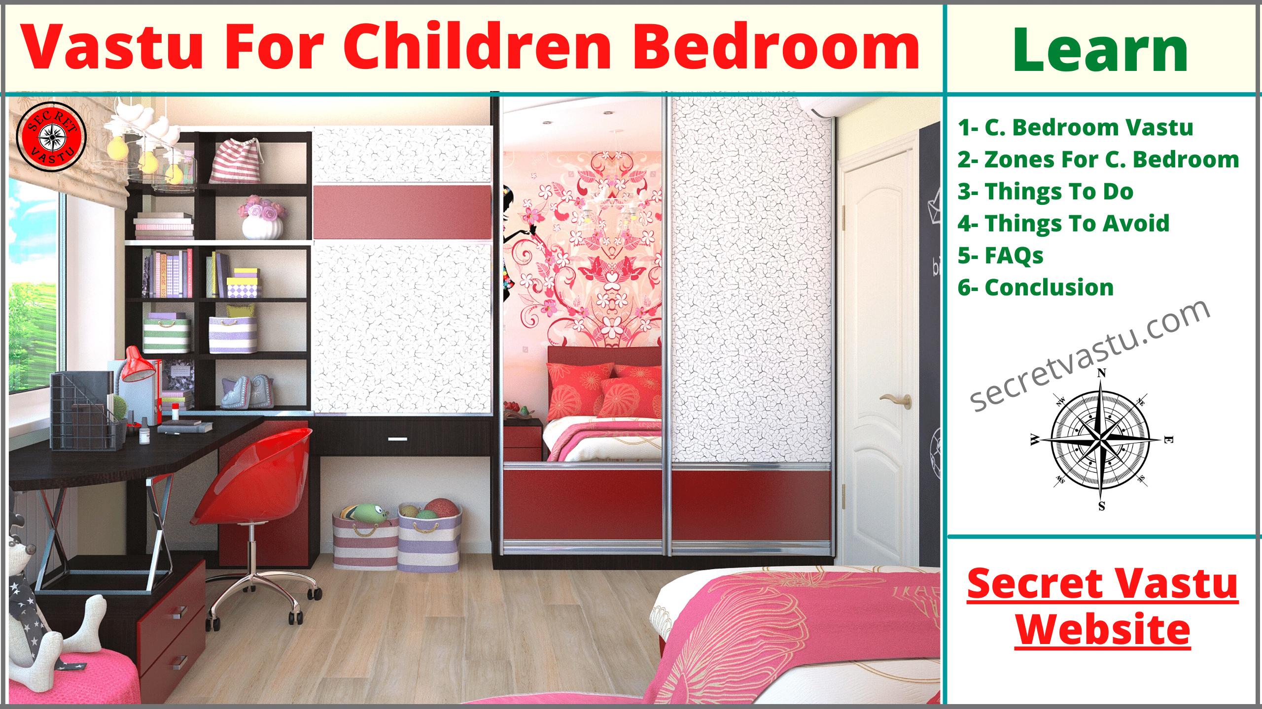 children bedroom vastu