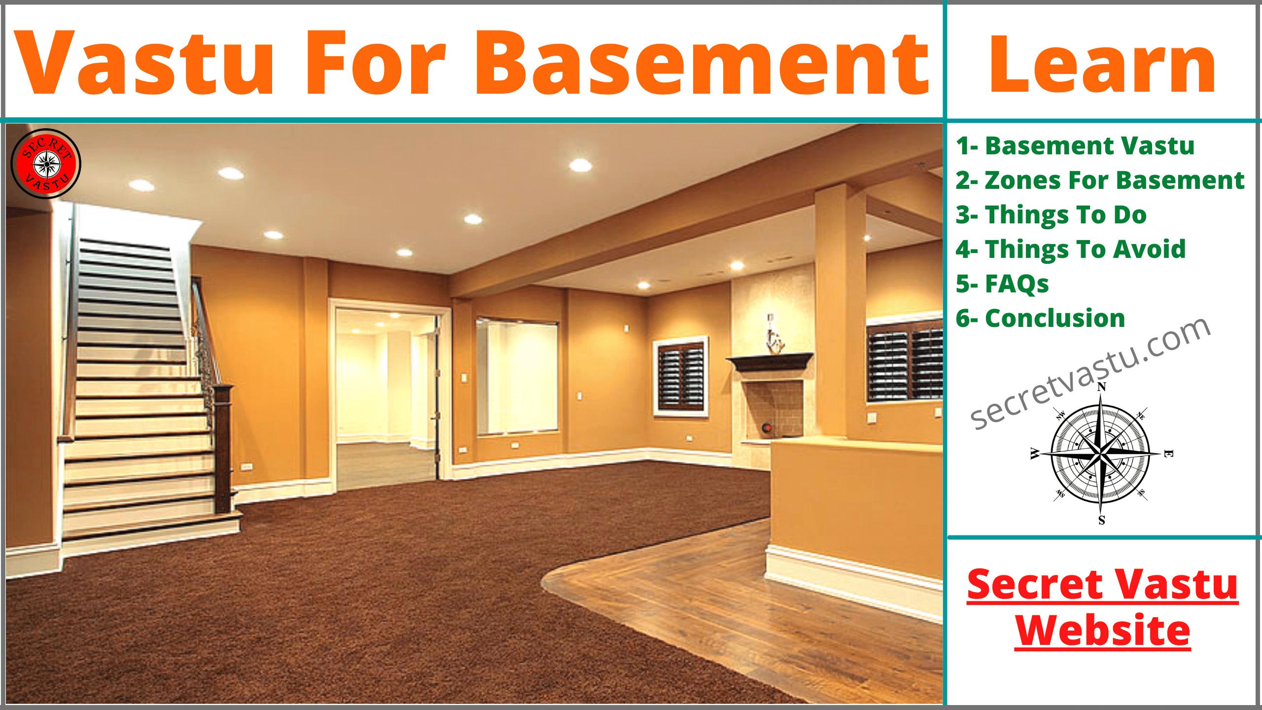 basement vastu