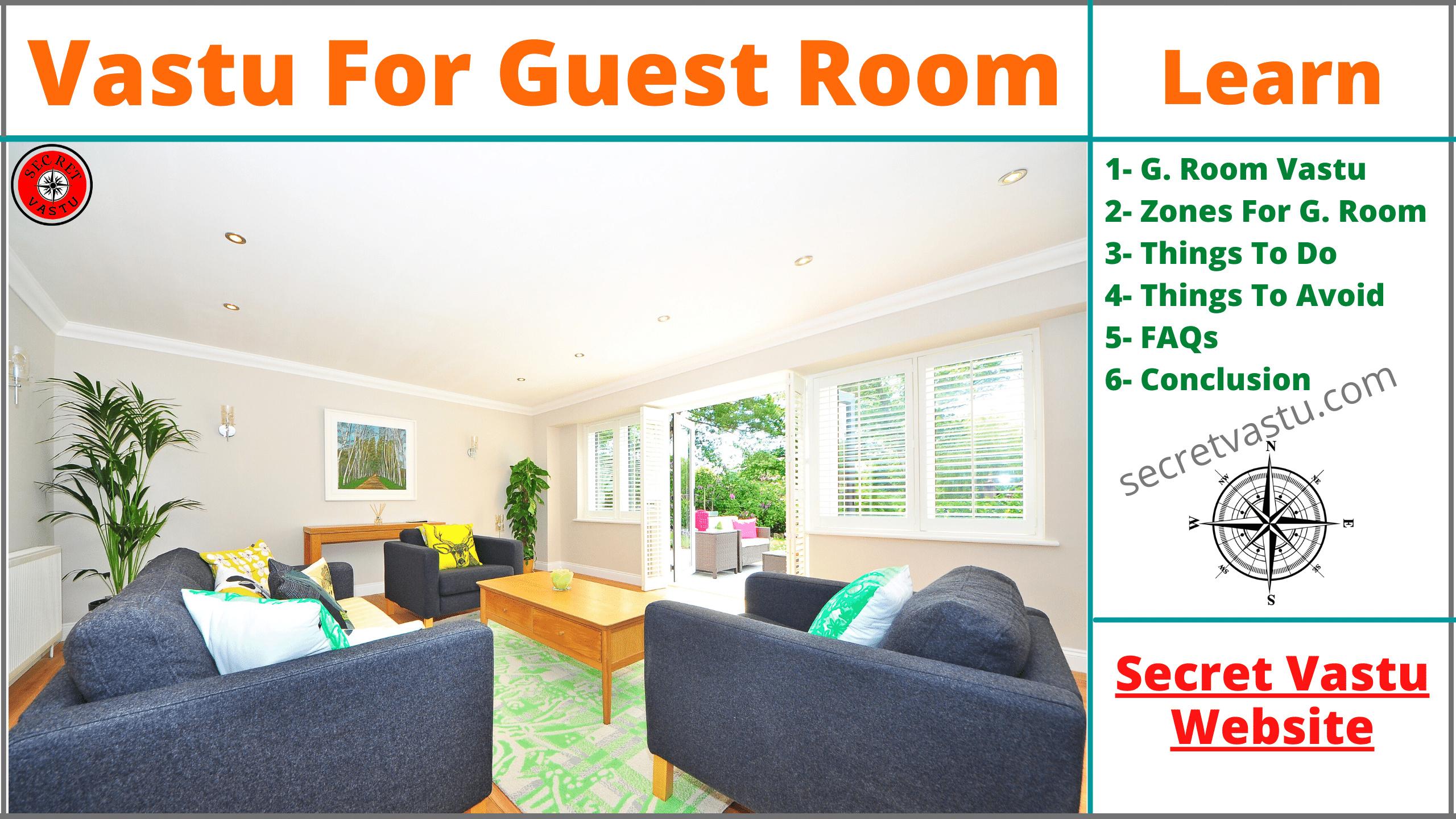 guest room vastu