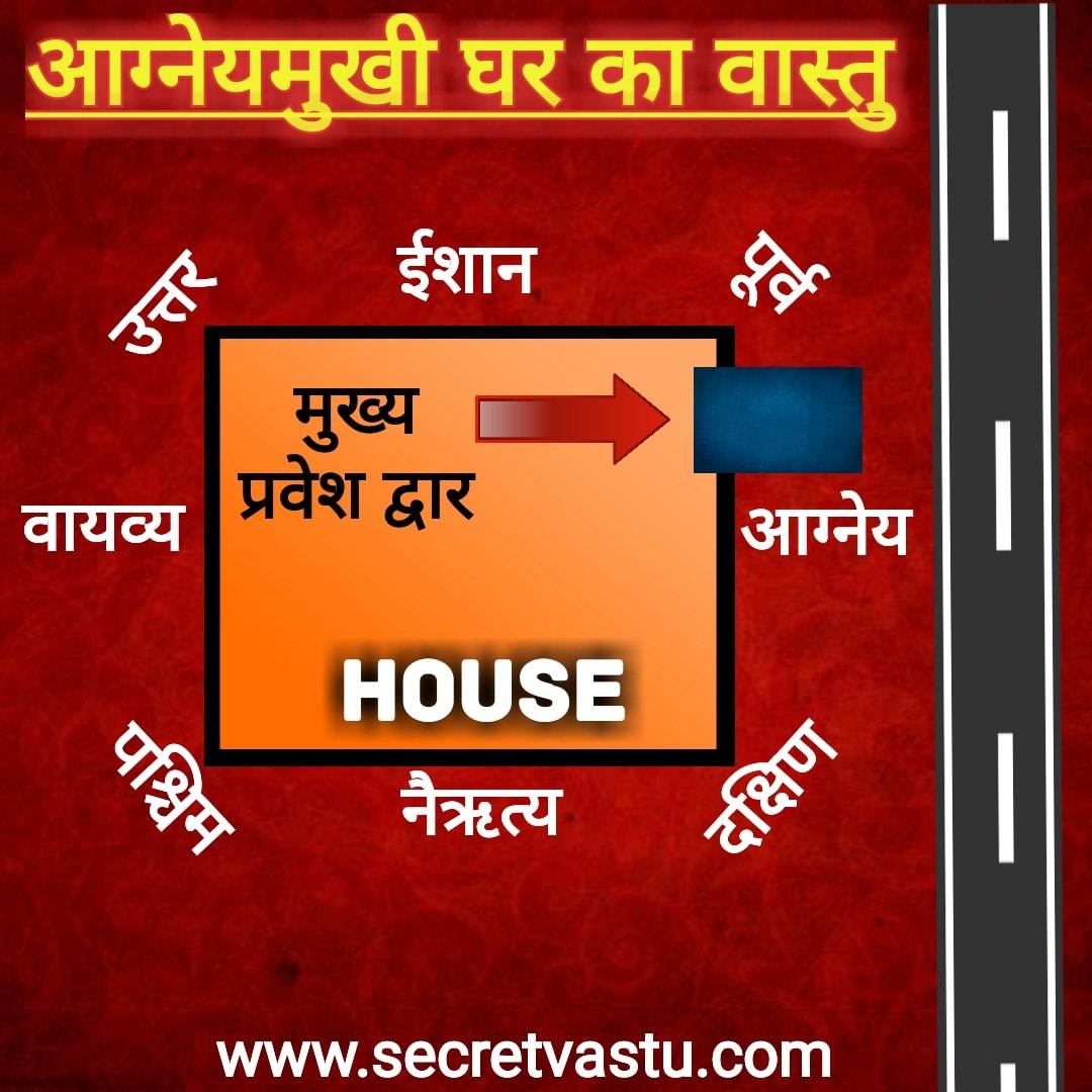 South East Facing House Vastu