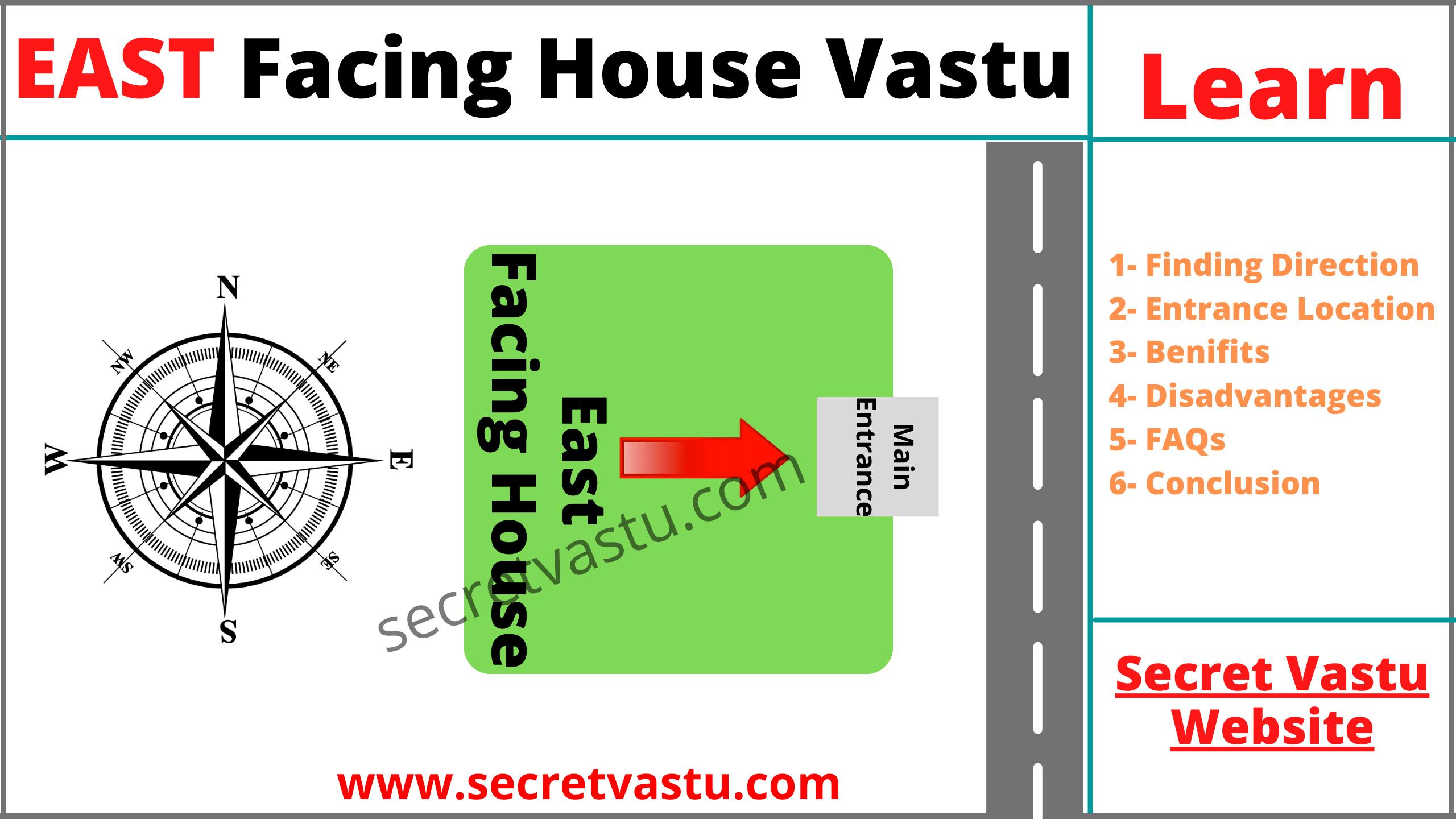 East facing house vastu tips