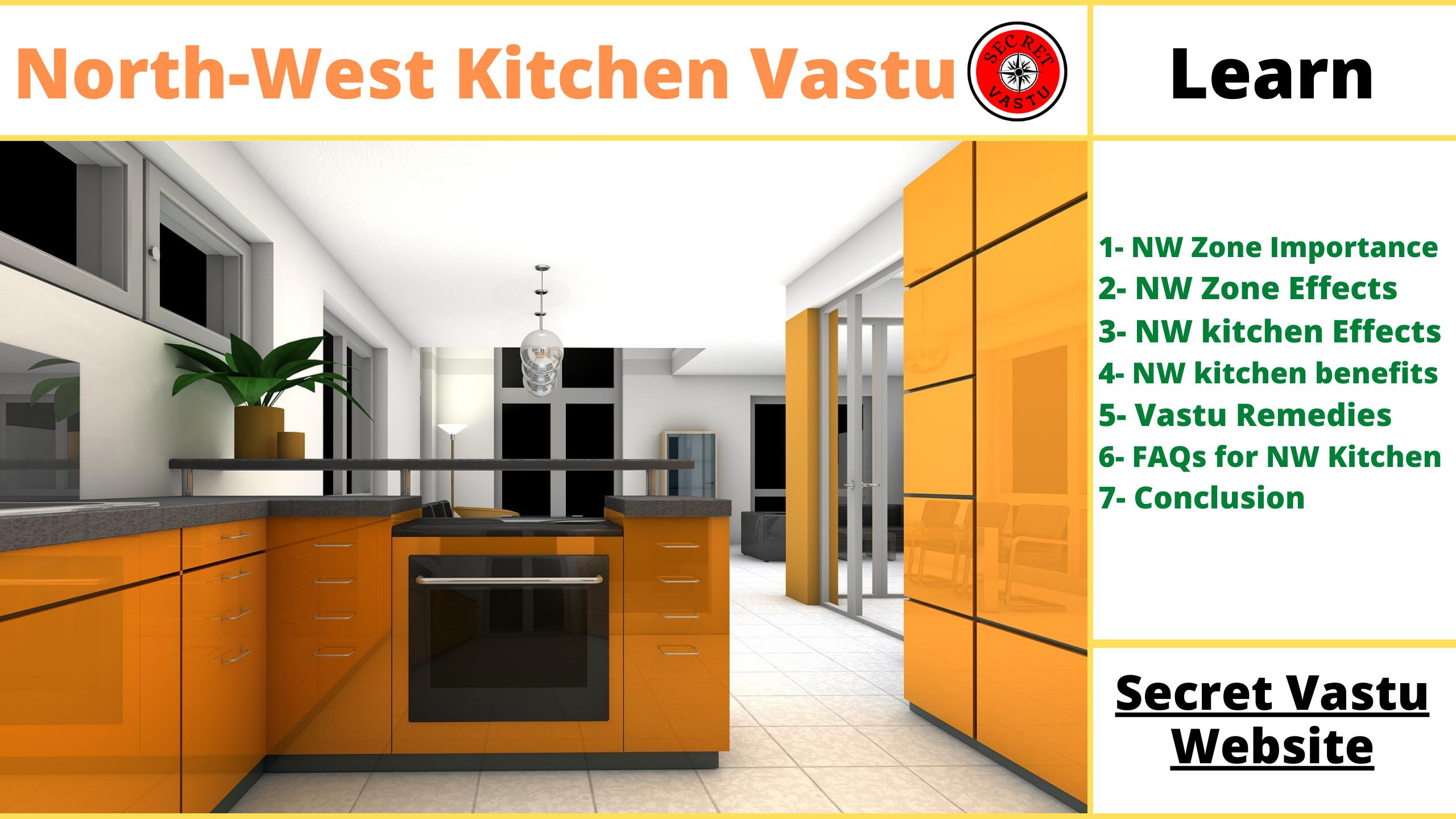 North West Kitchen Vastu