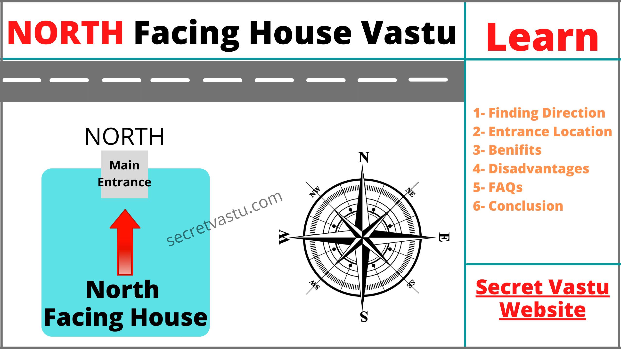 north facing house vastu tips
